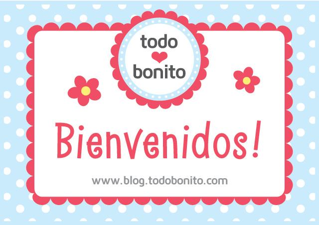Bienvenidos al blog de Todo Bonito!