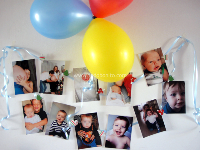 Decoración de cumpleaños CIRCO para imprimir | Todo Bonito