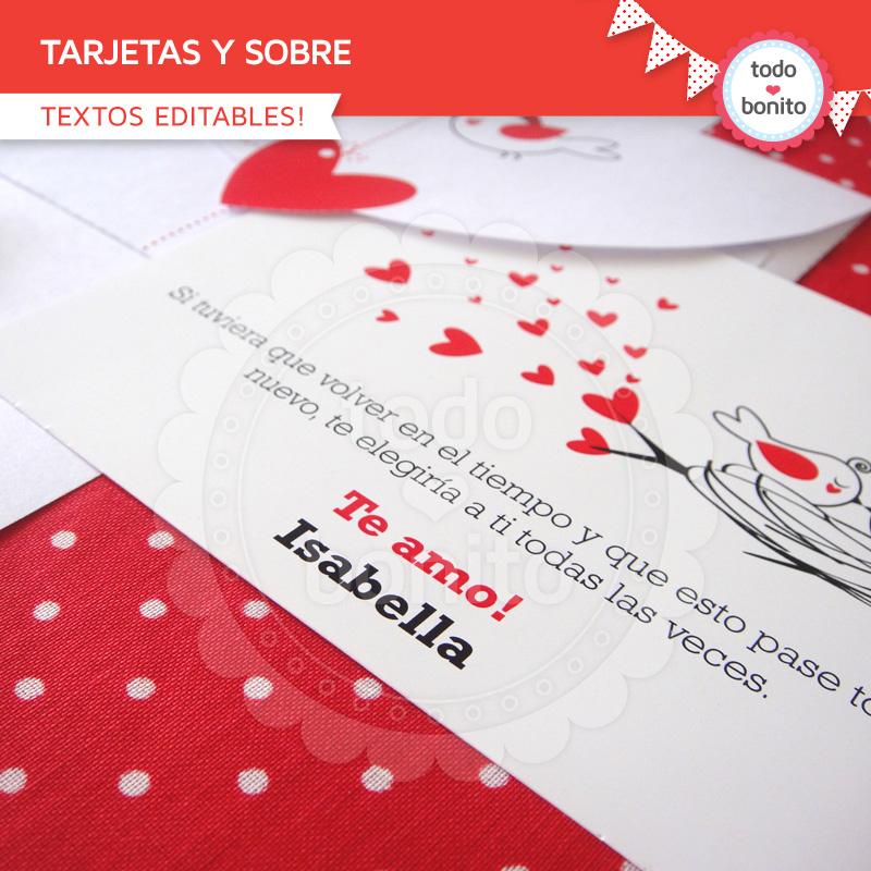 tarjetas dia de los enamorados