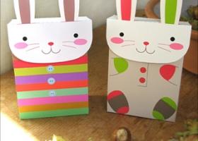 Bolsitas de conejitos para Pascuas