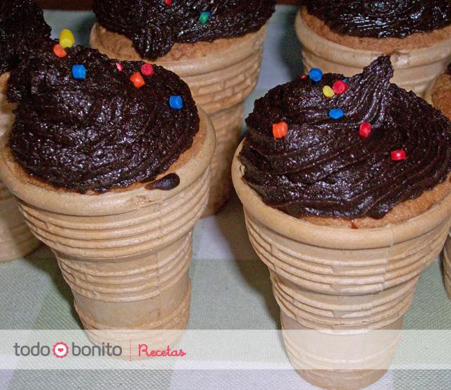 Receta: Cupcakes Heladitos