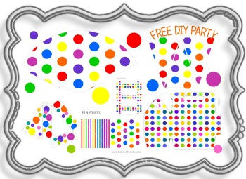 Free Printable Party Decorations