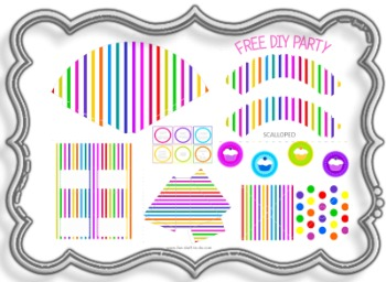 Candy Party Printables Free