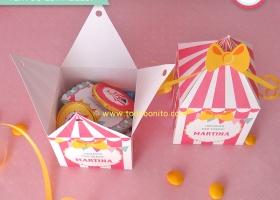 Decoración de cumpleaños: Circo para nenas