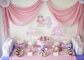 Cumpleaños de Princesa para imprimir