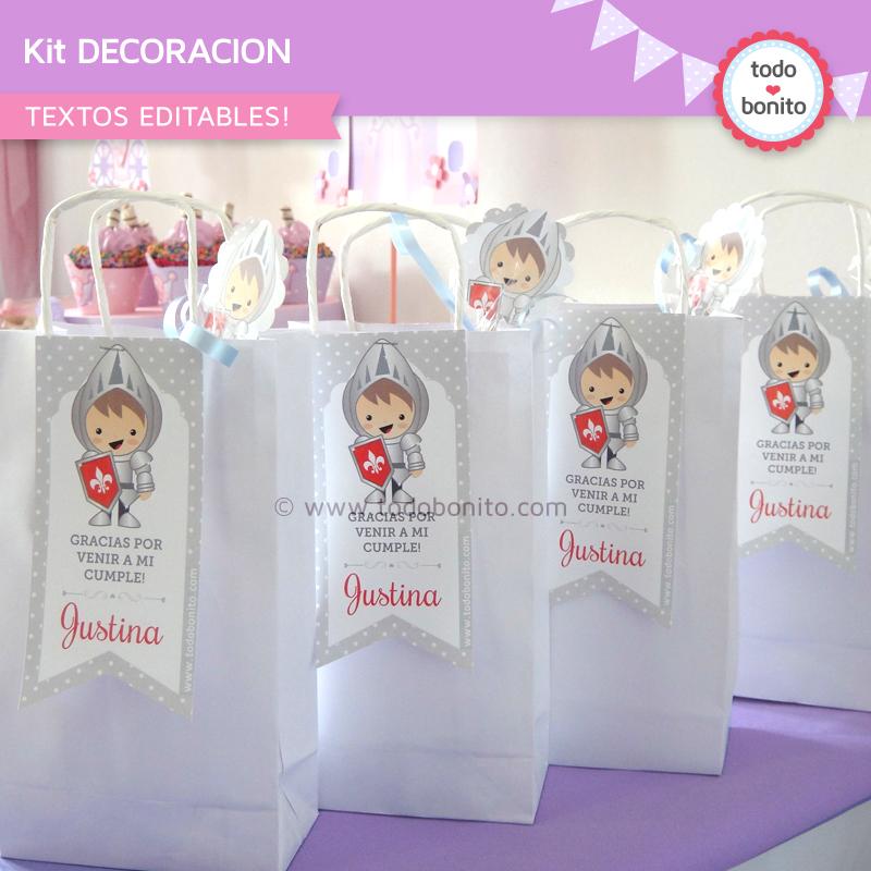 Kit decoración de Princesa