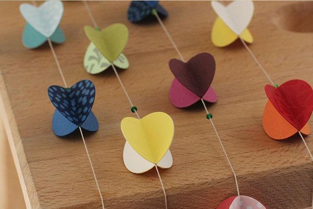 Tutorial guirnaldas de papel 3d - Como hacer cadenetas de papel para fiestas ...