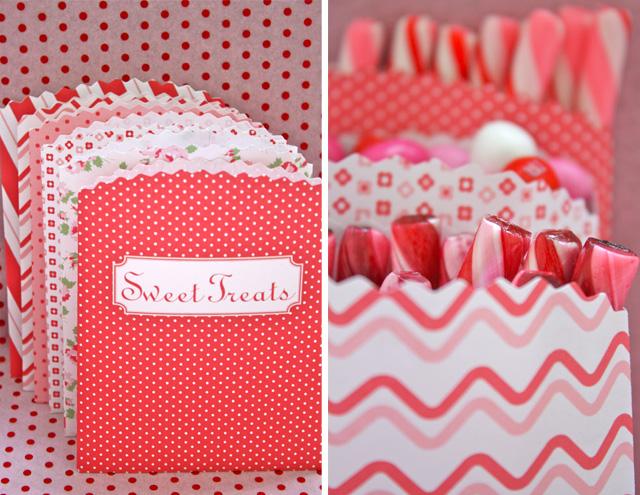 Moldes de bolsitas para dulces gratis | Todo Bonito