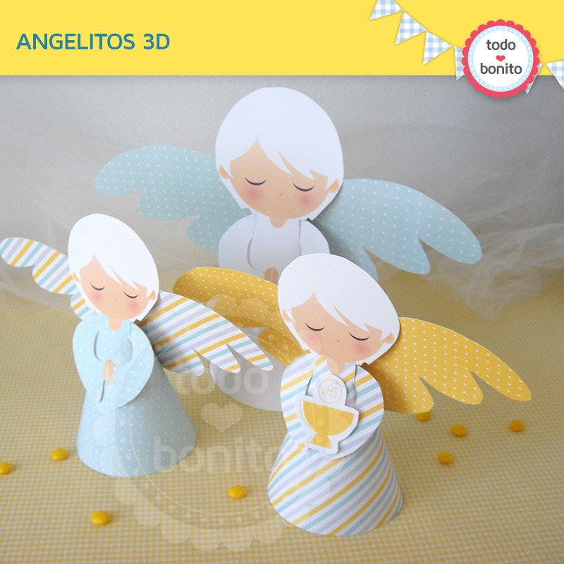 Angelitos De Primera Comunion
