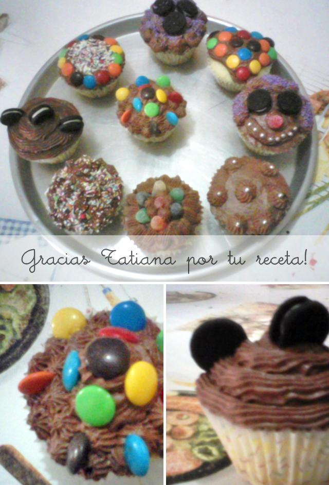 Recetas de Cupcakes por nuestras seguidoras de Facebook