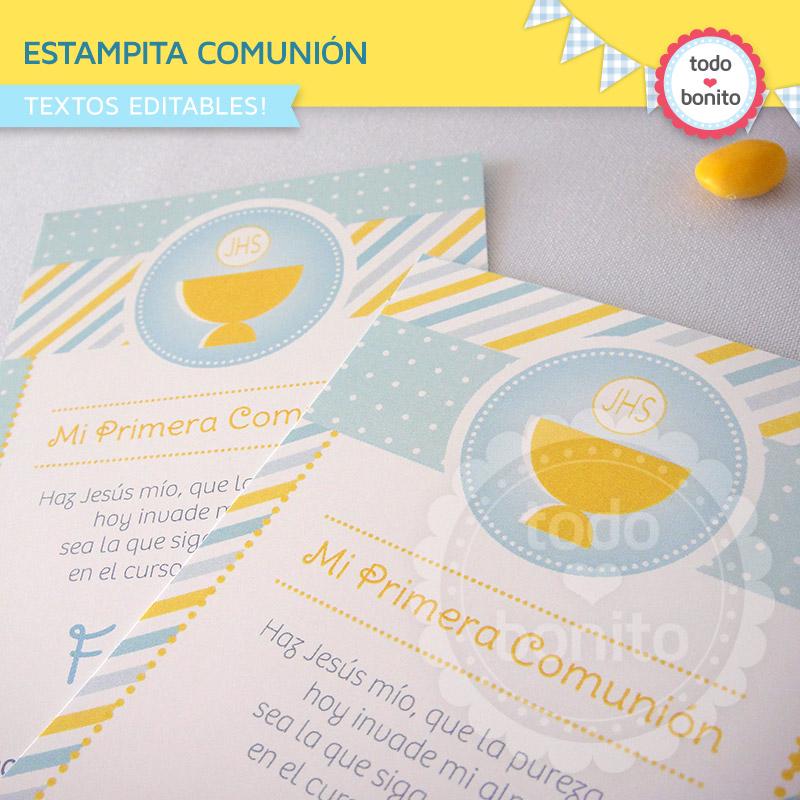 Ideas de Primera Comunión de niños