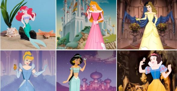 Princesas de Disney 3D para armar Gratis - Todo Bonito