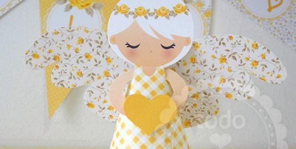 Ángeles para la Primera Comunión de niña - Imagui
