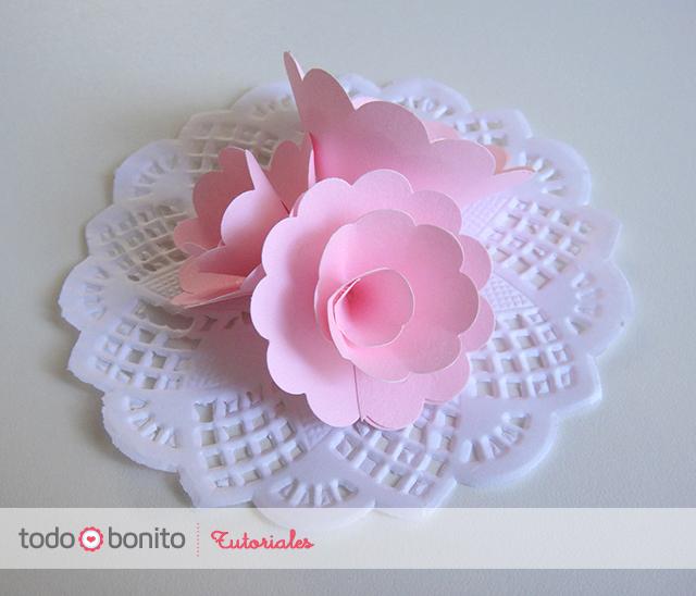 Paso a paso rosas de papel - Como hacer rosas de papel ...