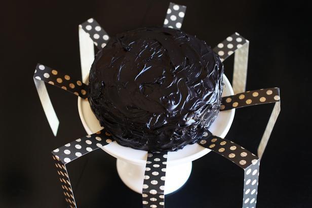 Ideas para Halloween: Torta araña