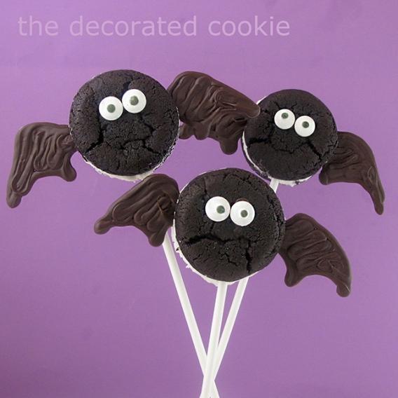 Ideas para Halloween: Galletas oreo decoradas