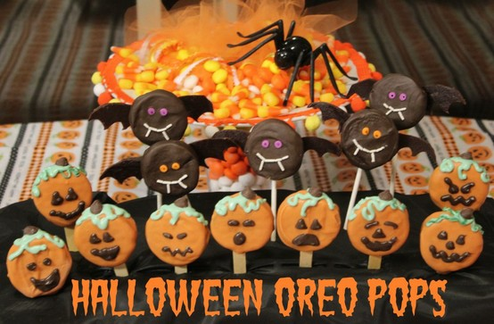 Ideas para Halloween: Galletas oreo decoradas