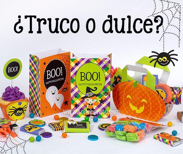 Diseños para imprimir de Halloween por Todo Bonito