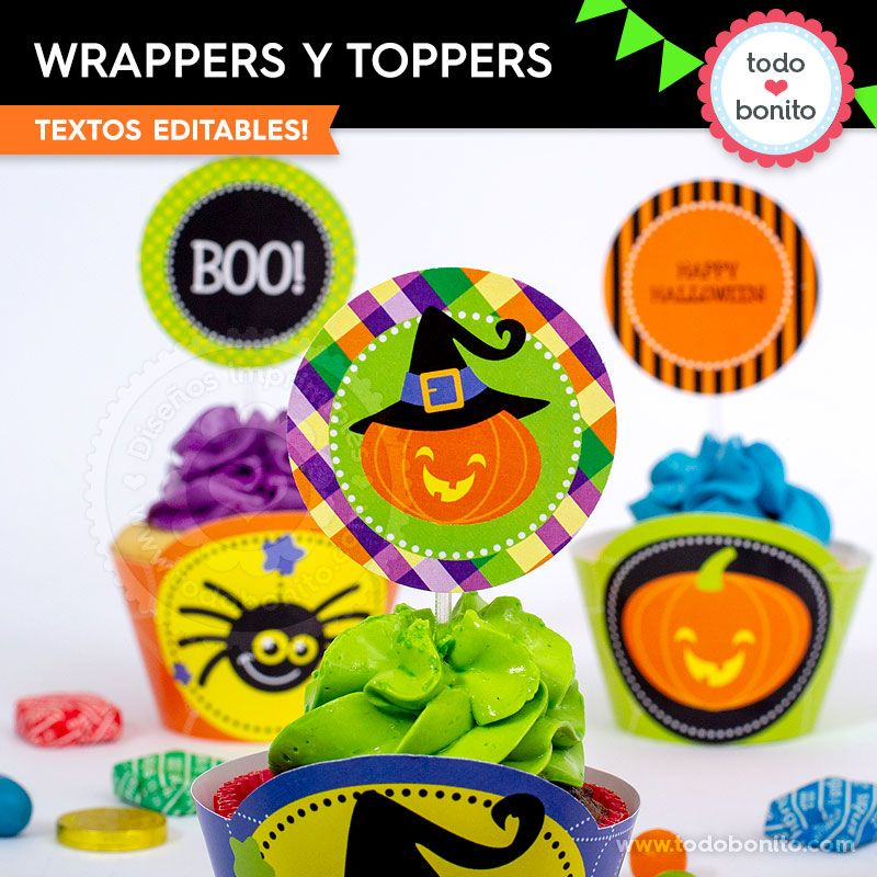 Wrappers de Halloween por Todo Bonito
