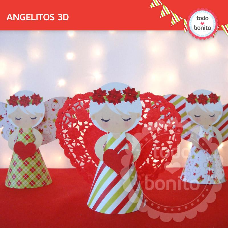 Los ángeles de Navidad