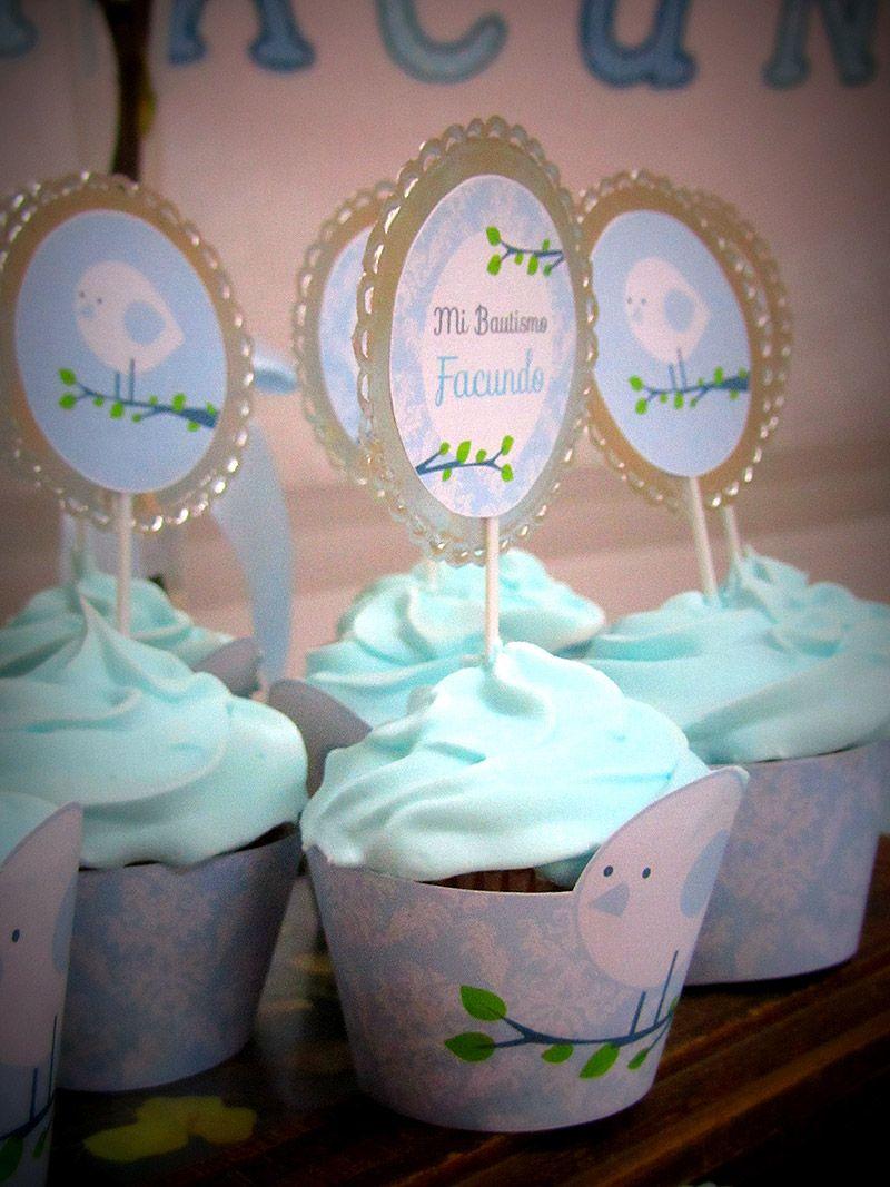 Cupcakes bautismo