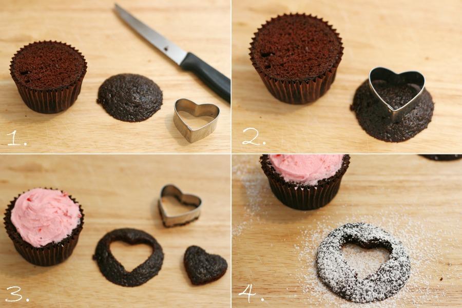 Cupcakes centro corazon