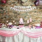 Una hermosa fiesta de princesa