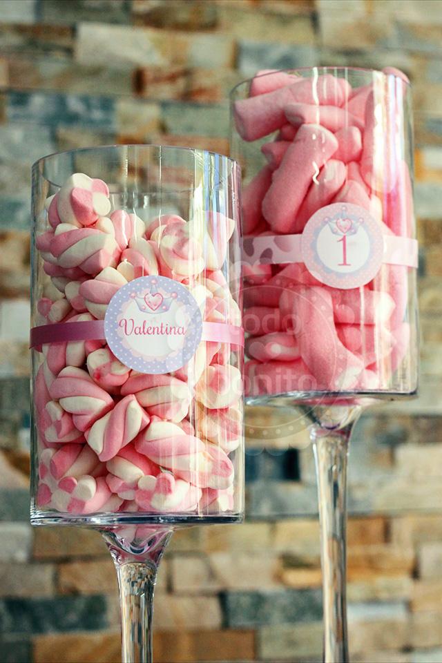 Candy bar princesa para imprimir