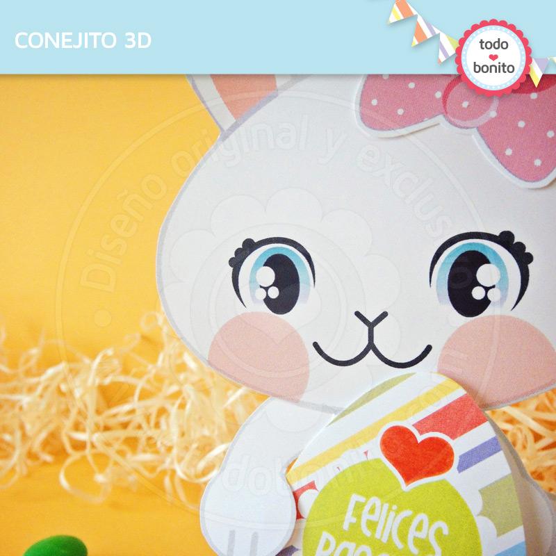Conejos de pascuas para imprimir por Todo ? Bonito