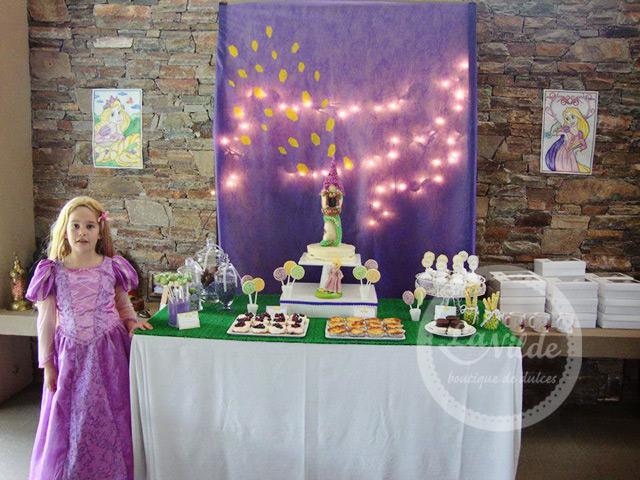 Decoracion De Rapunzel Para Fiestas Infantiles ~ Ideas de fiestas de Rapunzel