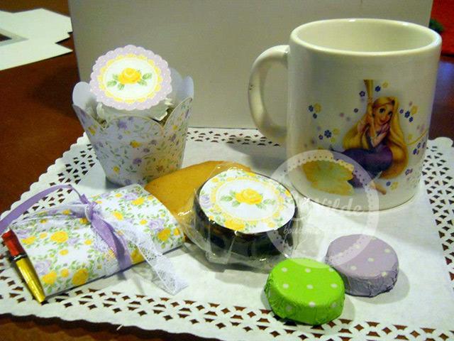 Souvenir de cumpleaños Rapunzel