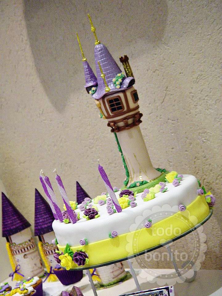 Ideas torta Rapunzel