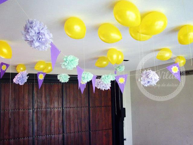 Decoracion Rapunzel Fiesta ~ Ideas de fiestas de Rapunzel