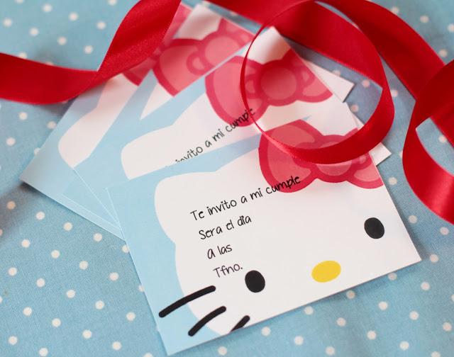 Kit imprimible hello kitty gratis