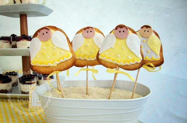 Más angelitos para decorar!
