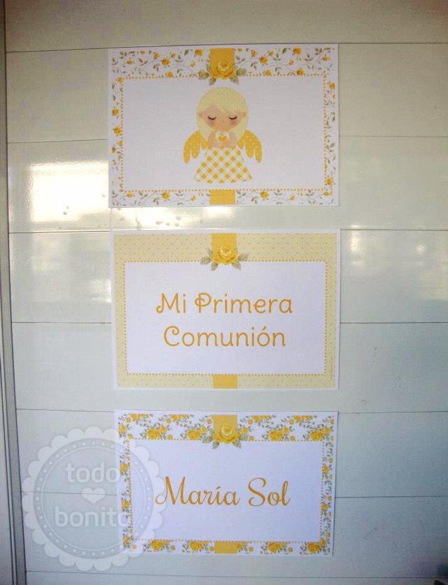 Cartel1ra comunion niñas
