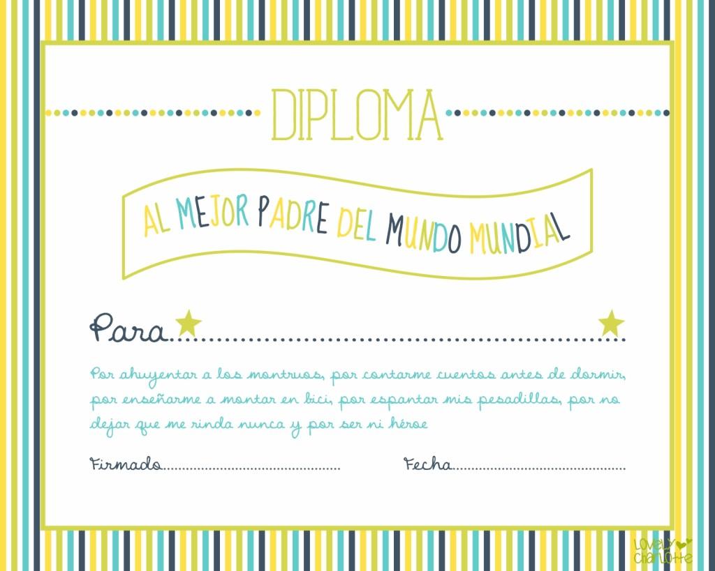 Imprimibles gratis para el día de padre en español - Todo Bonito