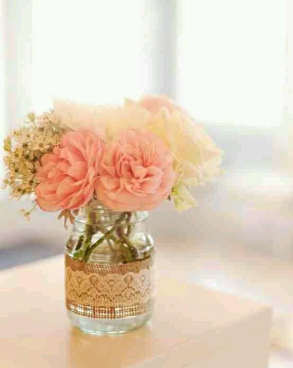 Flores Y Puntillas Decoracin