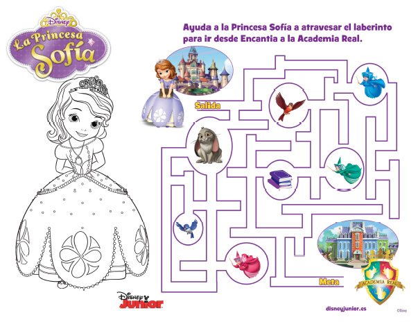 Imprimibles gratis princesita sof a for Programa para dibujar en 3d