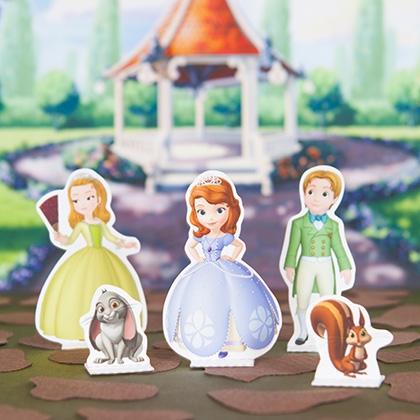 Personajes princesita sofia
