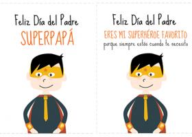 Imprimibles gratis para el día de padre en español