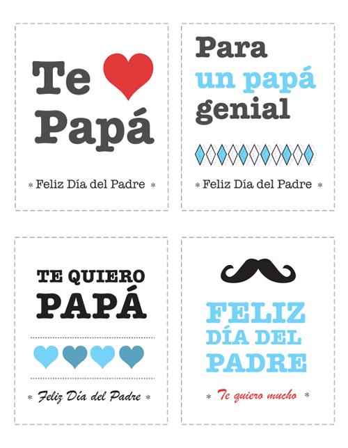 Tarjetas de felicitación día del padre gratis