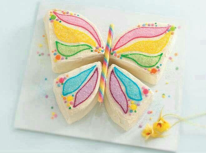 Torta de mariposa