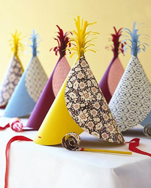 Gorros de cumpleaños originales
