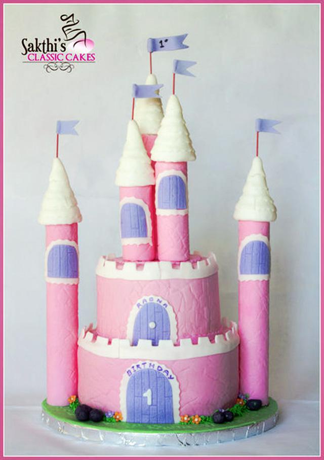 Como hacer una torta castillo