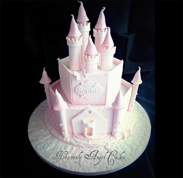 Como hacer una torta castillo princesas