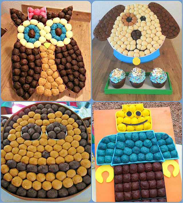 Torta animales originales
