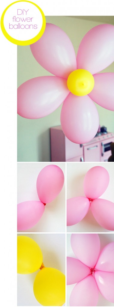 Tutorial decoración con globos