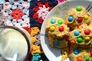 Galletas con confites rocklets