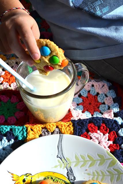 Cookies con confites